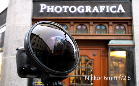 Nikkor fisheye lens 6mm f 2.8 with Nikon D4s   Photografica Copenhagen   YouTube